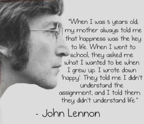 happiness-john-lennon-inspirational-quotes