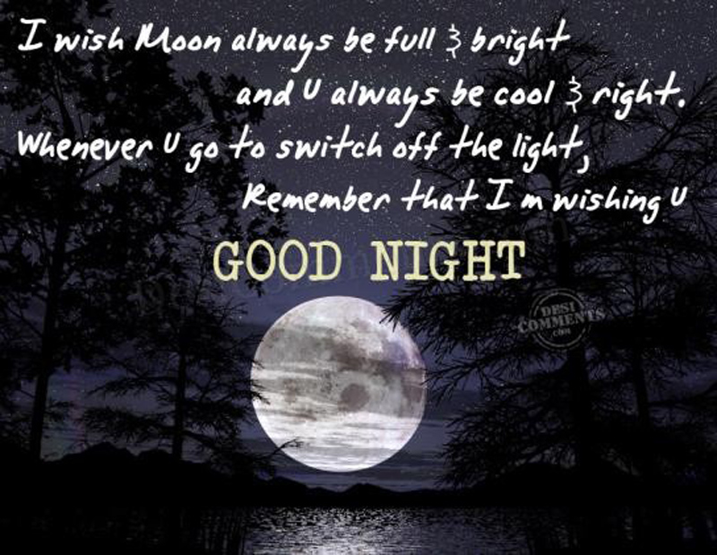 Love Quotes For Her To Say Goodnight : goodnight quotes