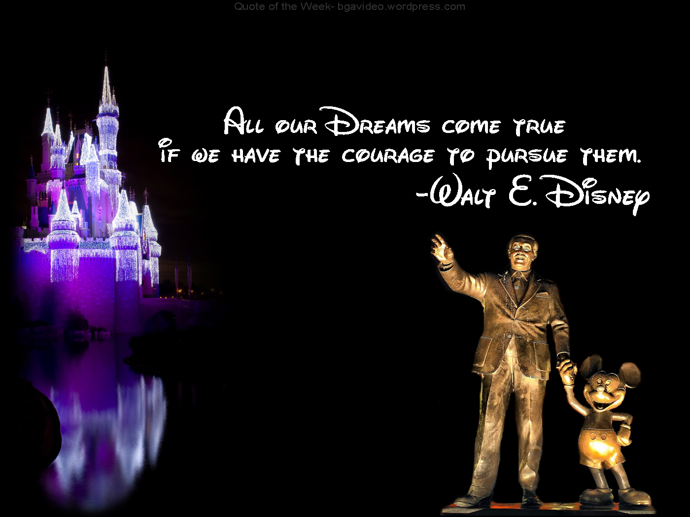 25 famous inspirational walt disney quotes