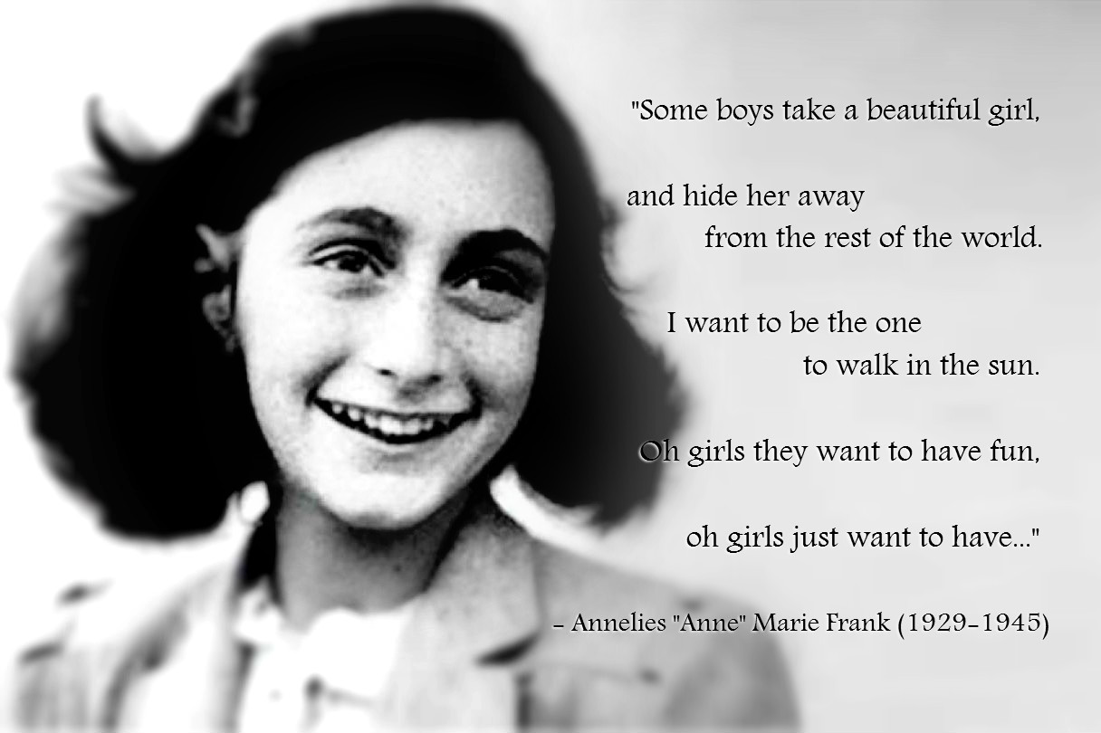 facts about anne frank for kids