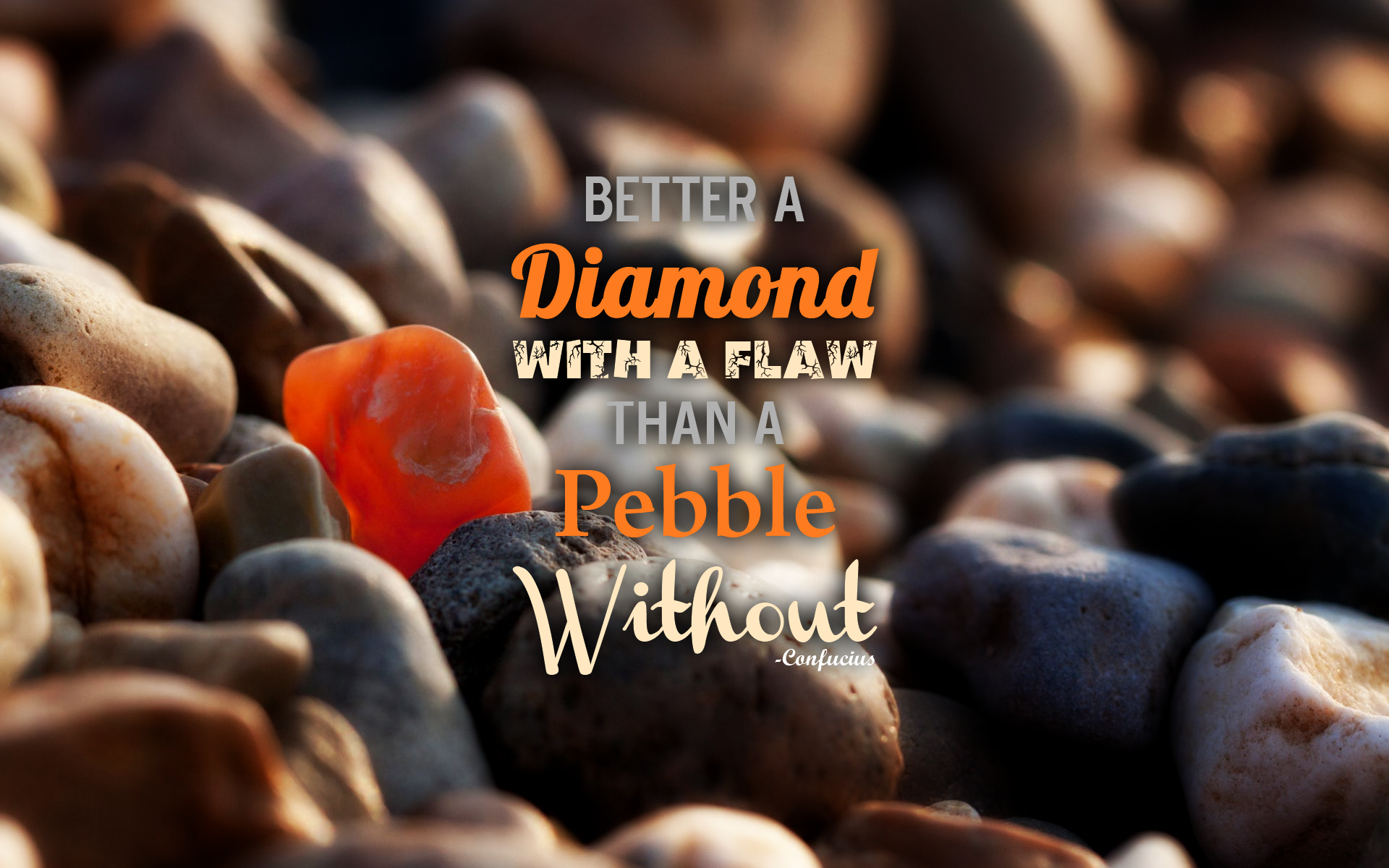 confucius quote about diamond