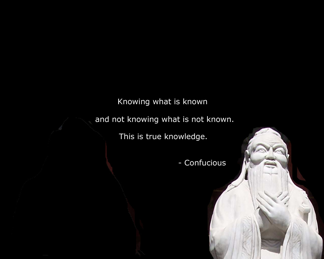 knowledge confucius quote