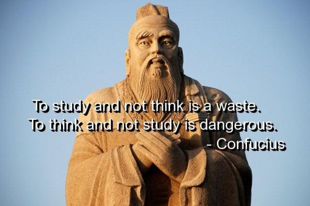 confucius quote about study