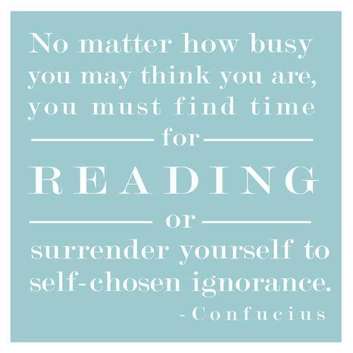 confucius quote about reading