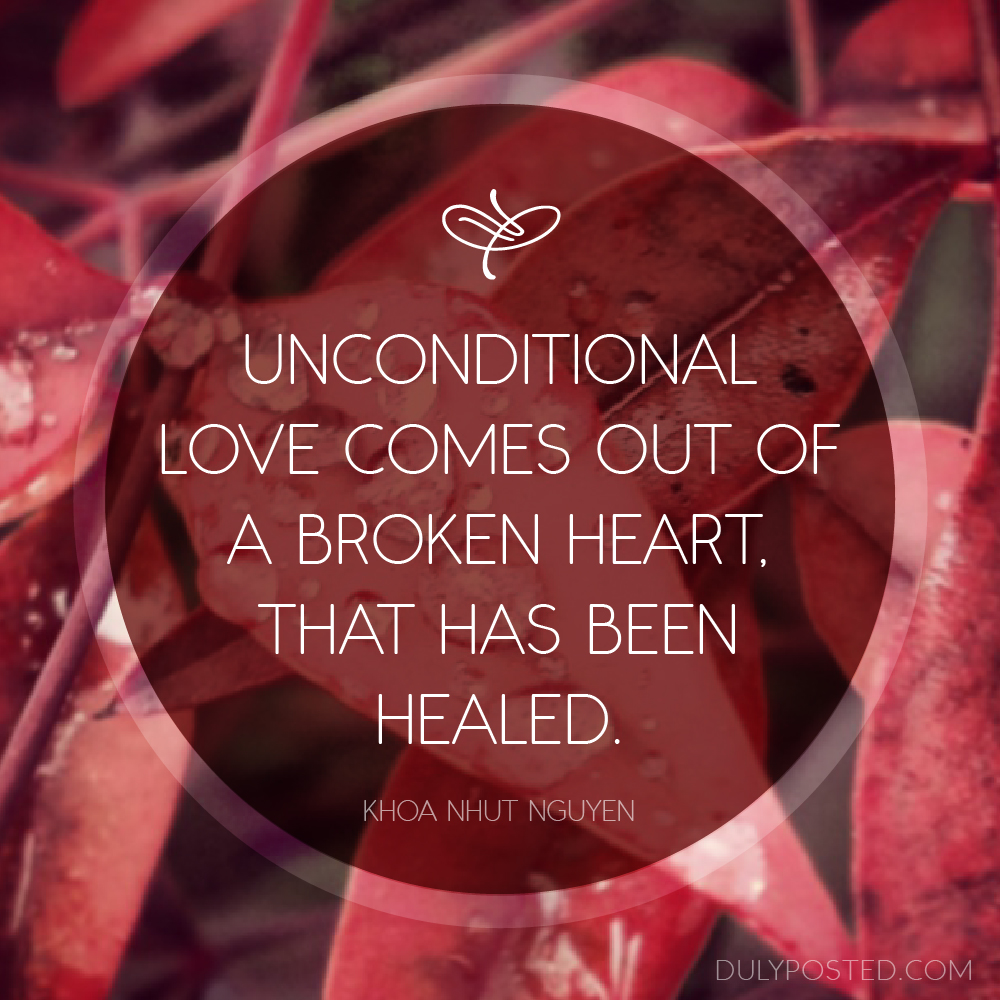 quotes about unconditional love