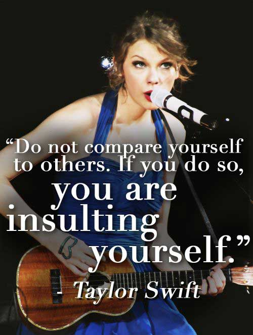 quotes of taylor swift about life