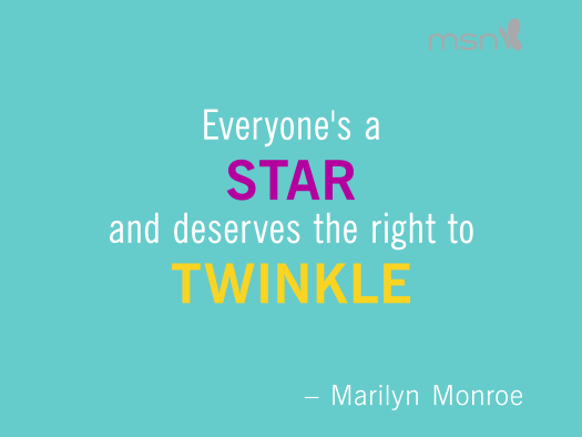 star-twinkle-self respect quotes