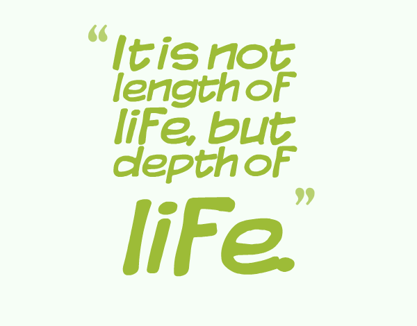 Meaningful quotes on life
