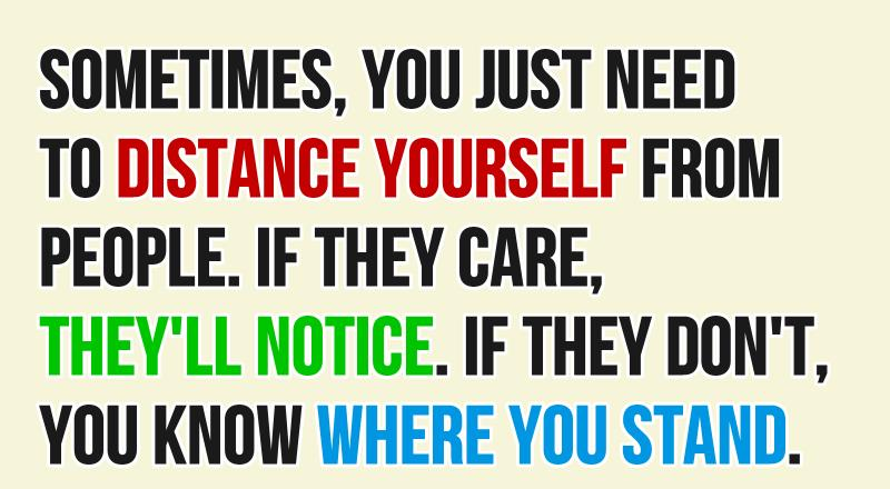 distance-yourself-Depression-Quotes
