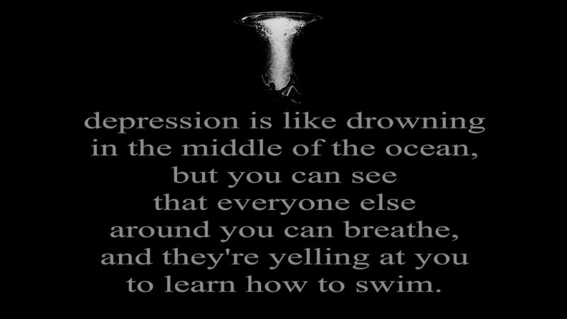drowning-Depression-Quote