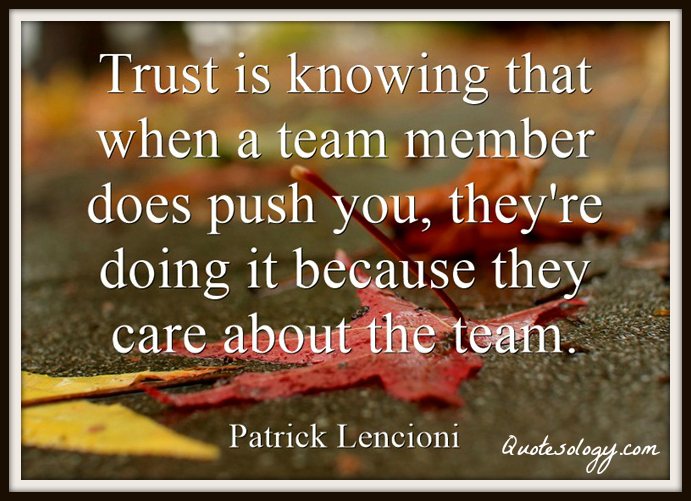 trust-know-teamwork-quote