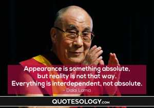 Dalai Lama Appearance Quotes