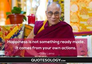Dalai Lama Happiness Quote