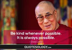 Dalai Lama Kindness Quotes