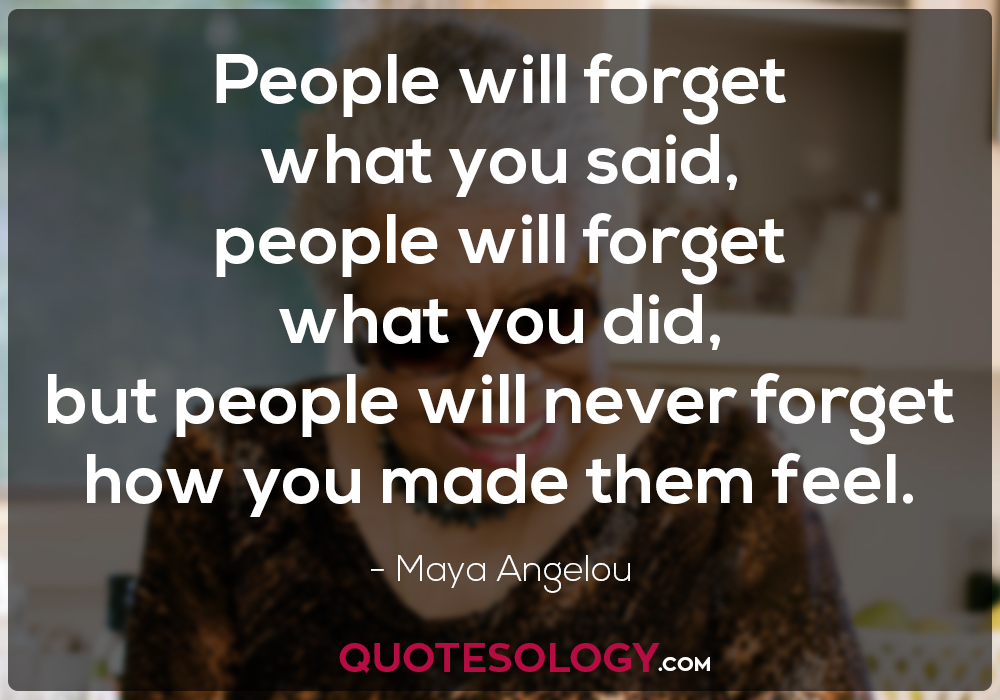 People Quotes From Maya Angelou