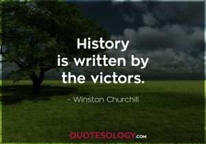 Winston Churchill Witten Quote