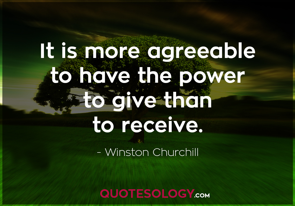 Winston Churchill Agreeable Quote