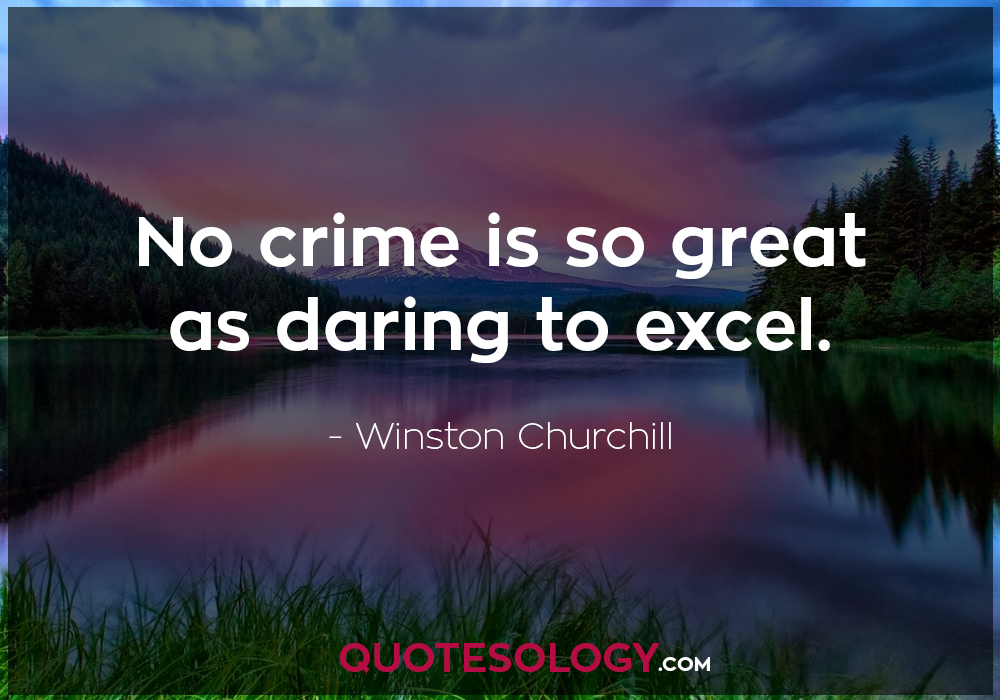 Winston Churchill Crime Quote