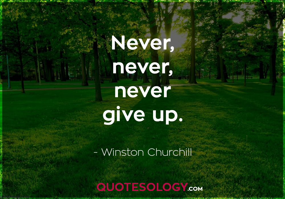 Winston Churchill Greatness Quotes