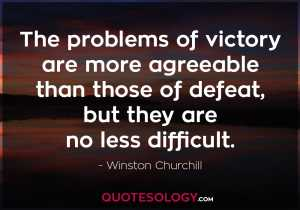 Winston Churchill Inspirational Quote