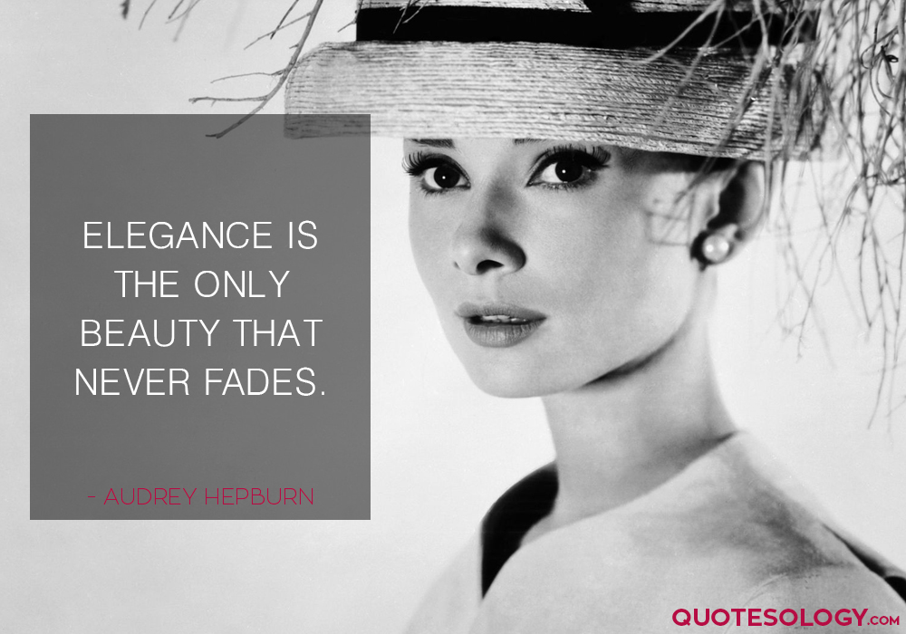 Audrey Hepburn Beauty Quotes