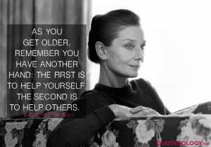 Audrey Hepburn Help Others Quotes