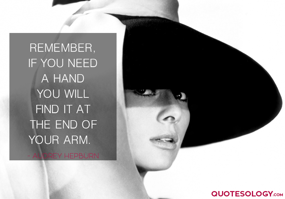 Audrey Hepburn Inspirational Quotes