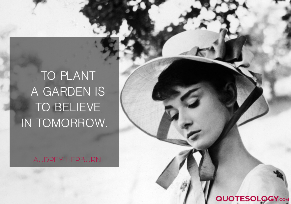 Audrey Hepburn Motivational Quotes