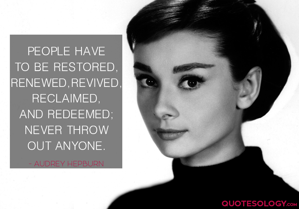 Audrey Hepburn People Quote