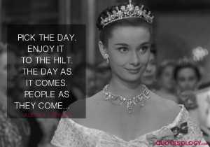 Audrey Hepburn People Quotes