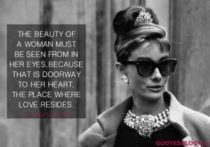 Audrey Hepburn Woman Beauty Quote