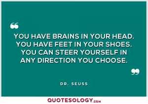 Dr Seuss Brains Quotes