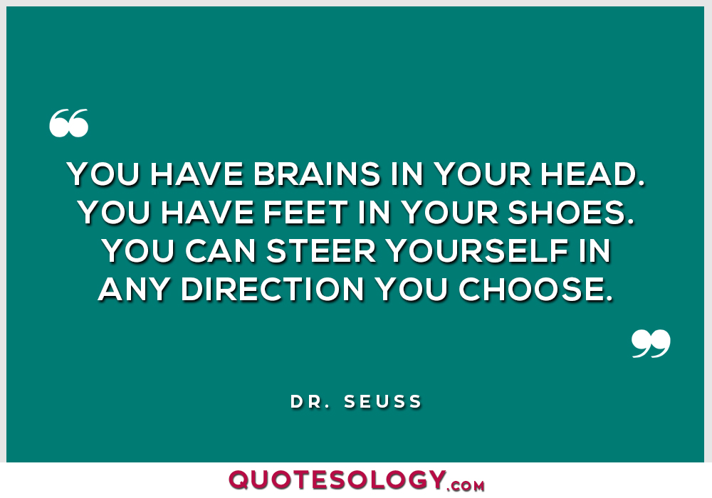Dr Seuss Brains Quotes