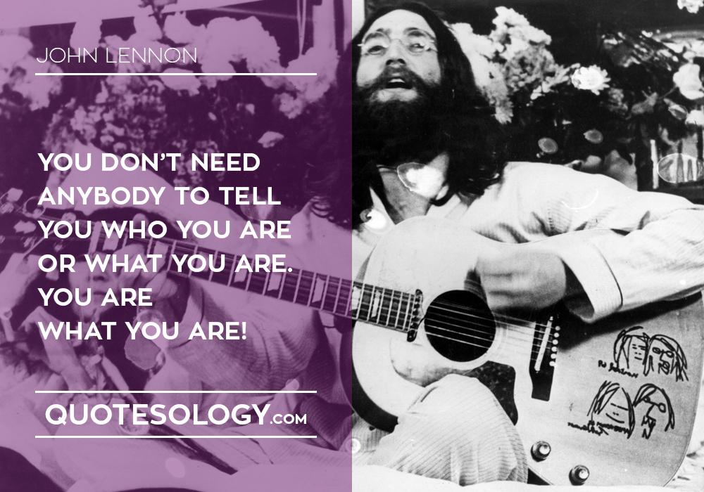 John Lennan Inspirational Quotes