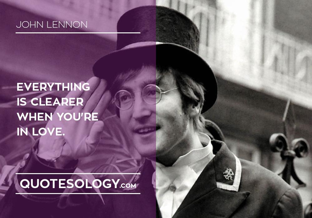John Lennan Love Quote