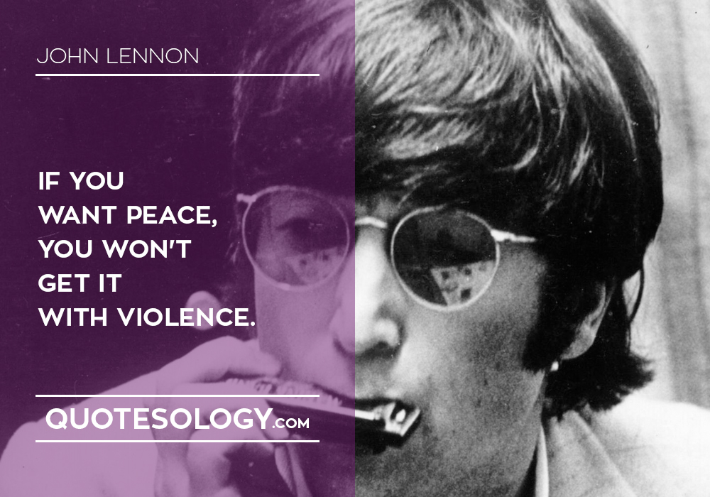 John Lennan Peace Quotes