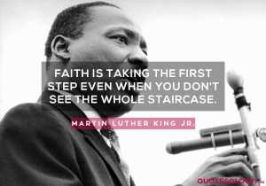 Martin Luther King Jr. Faith Quote