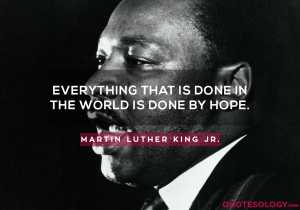 Martin Luther King Jr. Hope Quotes