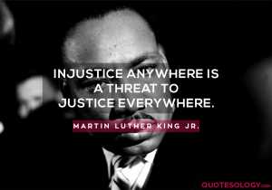 Martin Luther King Jr. Injustice Quotes