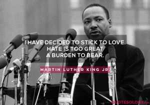 Martin Luther King Jr. Love Quotes