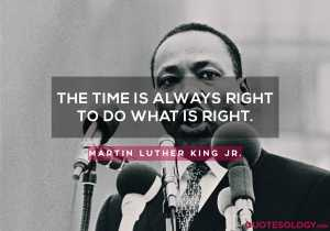 Martin Luther King Jr. Time Quotes