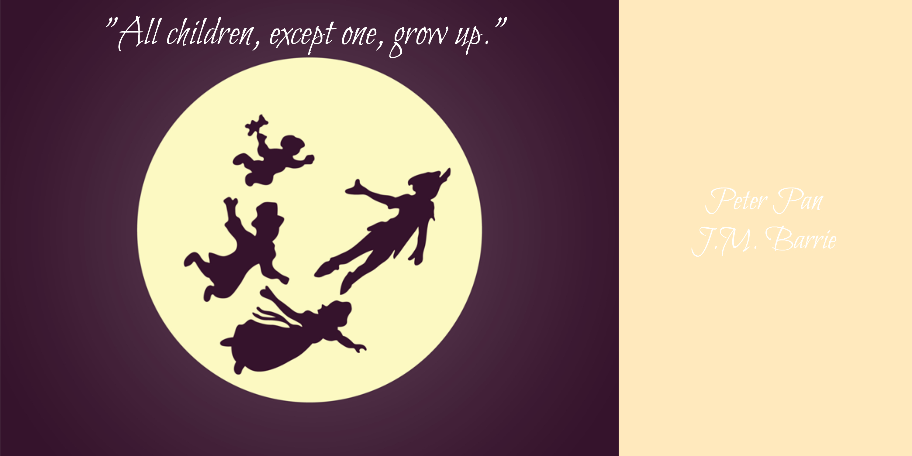 Cool Peter Pan Quotes