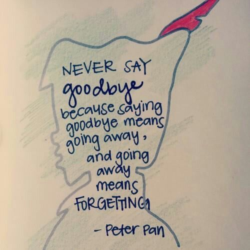 peter pan quote
