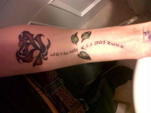 flower tattoos quotes
