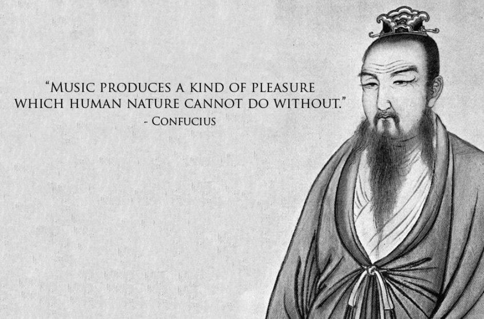 confucius quote about music