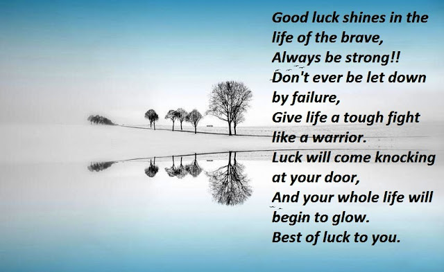 good luck sayings