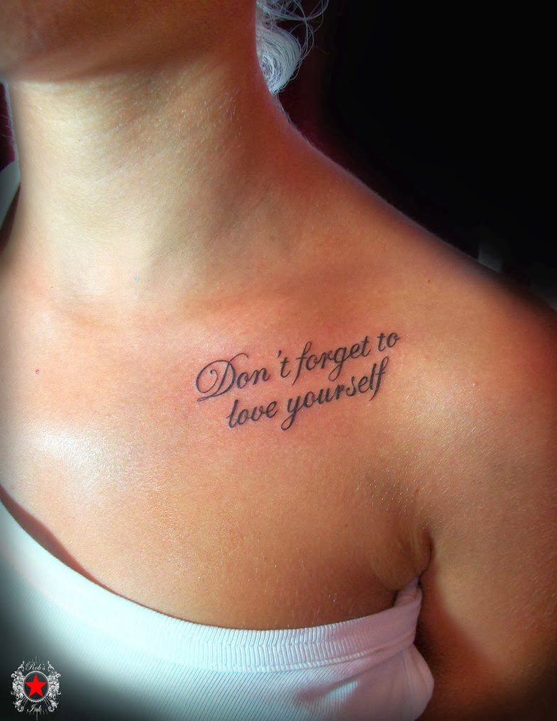 45 Meaningful and Inspirational Tattoo Quotes Ideas