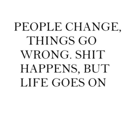 Moving On Quotes about change