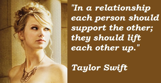 famous quotes by taylor swift
