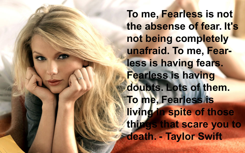 good quotes by taylor swift